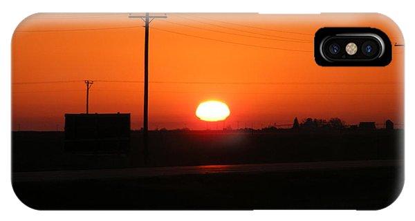 Kansas Sunrise IPhone Case