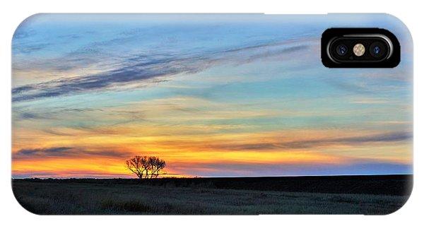 Kansas Sunrise1 IPhone Case