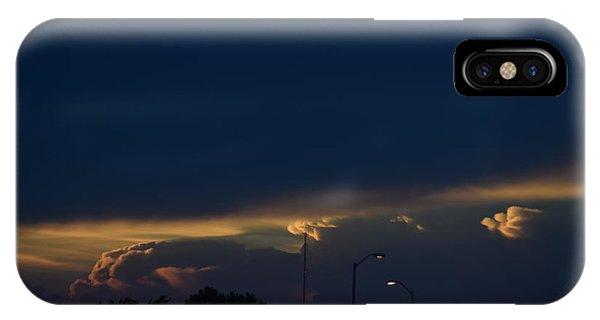 Kansas Sunset Angel IPhone Case