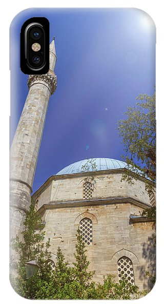 Mostar iPhone Case - Karadoz Bey Mosque, Mostar, Bosnia And Herzegovina by Elenarts - Elena Duvernay photo