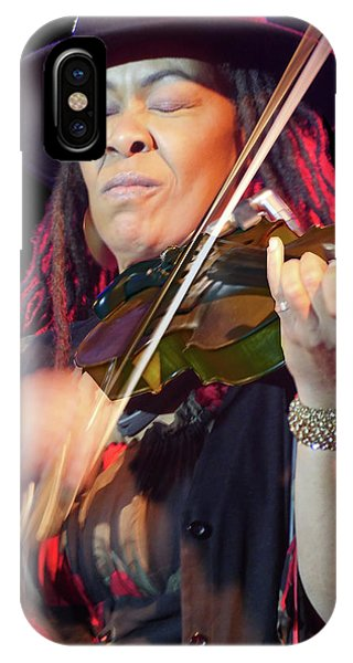 Karen Briggs 2017 Hub City Jazz Festival - In The Moment IPhone Case