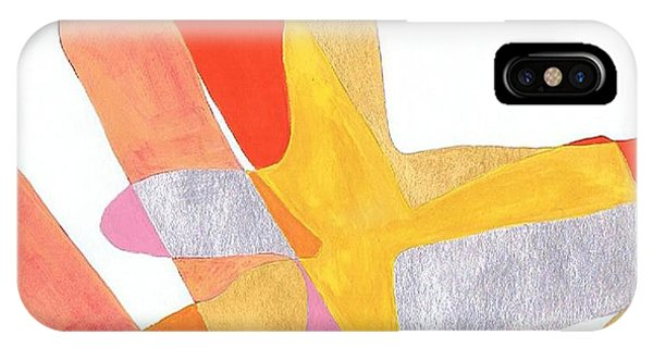 Karlheinz Stockhausen Tribute Falling Shapes IPhone Case