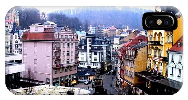 IPhone Case featuring the photograph Karlovy Vary Cz by Michelle Dallocchio