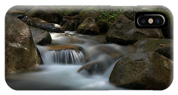 Katahdin Stream In The Shade IPhone Case