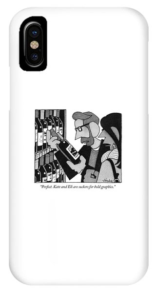 Kate And Eli Are Suckers For Bold Graphics IPhone Case