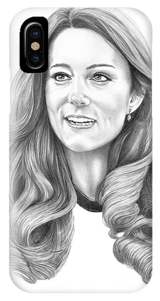 Kate Middleton Catherine Duchess Of Cambridge IPhone Case