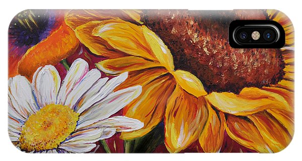 Kathrin's Flowers IPhone Case