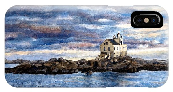 Katland Lighthouse IPhone Case