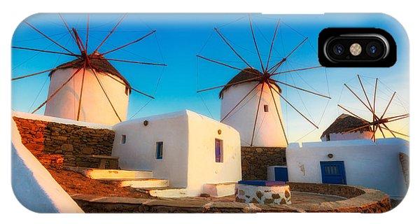 Greece iPhone X Case - Kato Mili by Inge Johnsson
