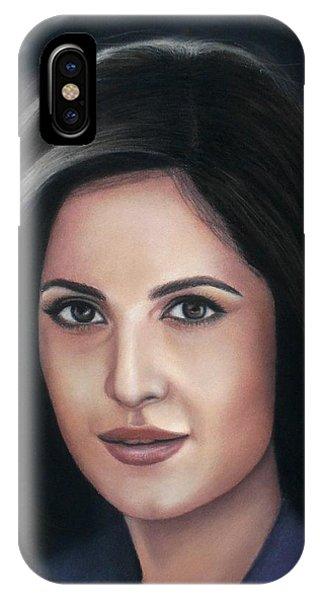Katrina Kaif - Pastel IPhone Case