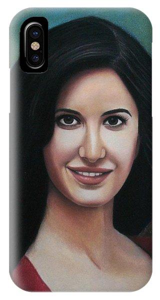 Katrina - The Beauty Of India IPhone Case
