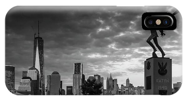 Katyn New World Trade Center In New York IPhone Case