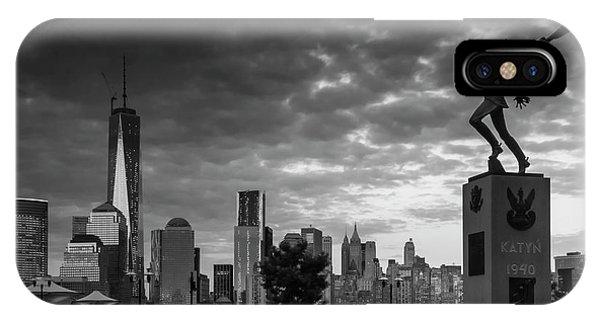 Katyn New World Trade Center In New York IPhone Case
