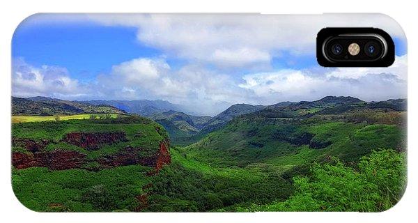 Kauai Mountains IPhone Case