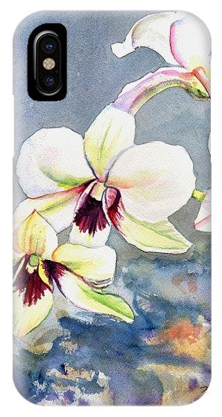 Kauai Orchid Festival IPhone Case