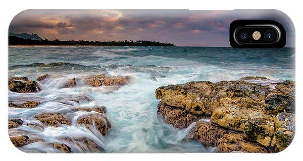 Kauai Ocean Rush IPhone Case