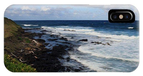 Kauai Shore 1 IPhone Case