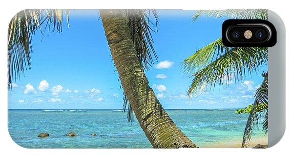 Kauai Tropical Beach IPhone Case