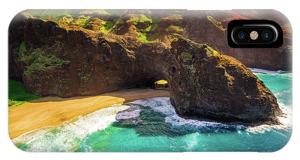 Kauai Tunnel IPhone Case