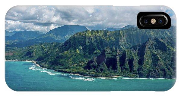 Kawaii Na Pali Coast  IPhone Case