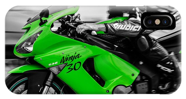 Kawasaki Ninja Zx-6r IPhone Case