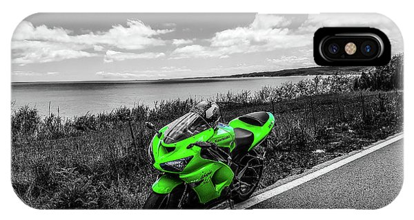Kawasaki Ninja Zx-6r 2 IPhone Case