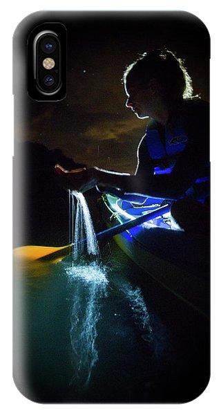 Kayak In The Biobay Phone Case by Karl Alexander
