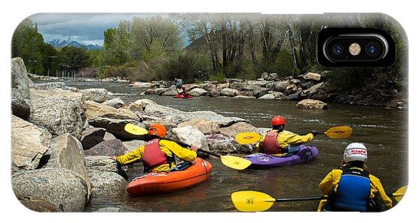 Kayaking Class IPhone Case