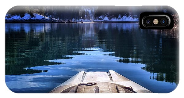 Kayaking In Mccloud IPhone Case