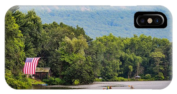 IPhone Case featuring the photograph Kayaking On Nashawannuck Pond Easthampon by Sven Kielhorn