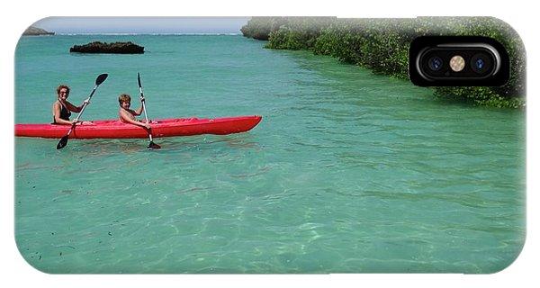 Kayaking Perfection 2 IPhone Case