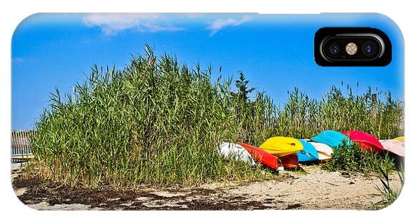 Kayaks At Barnegat IPhone Case