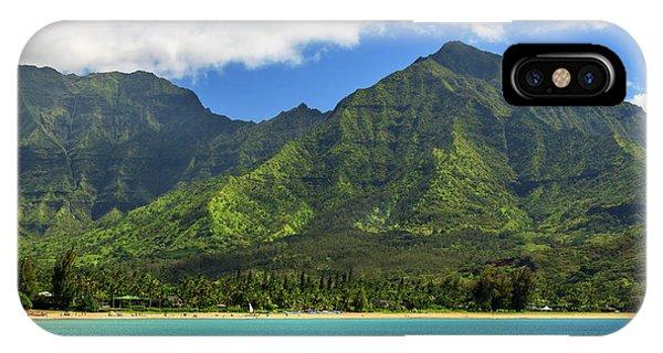 Kayaks In Hanalei Bay IPhone Case