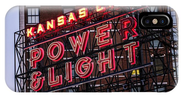 IPhone Case featuring the photograph Kc Power And Light by Jim Mathis