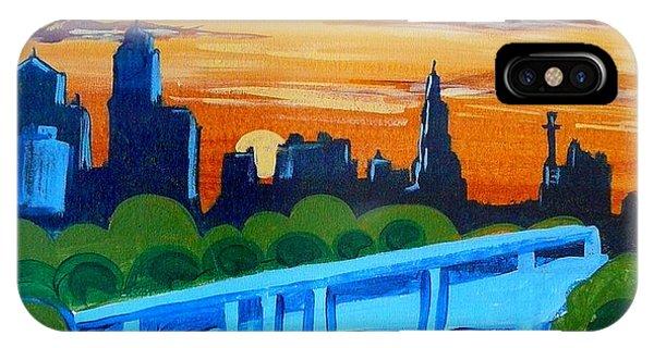 Kc Skyline At Sunset IPhone Case