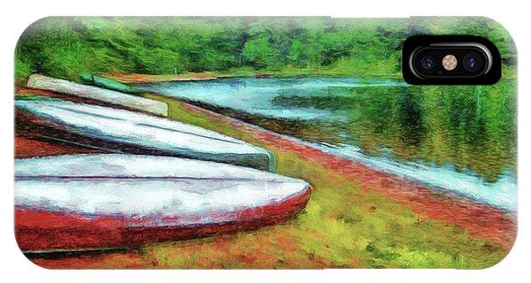 Kearney Lake Beach IPhone Case