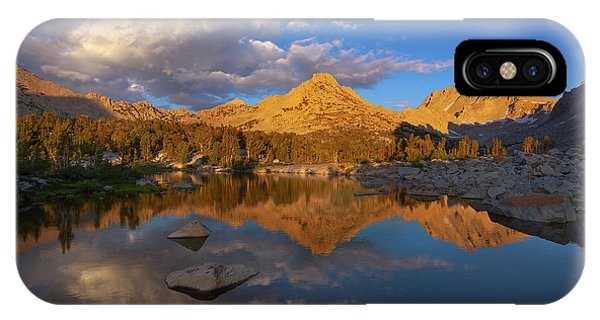 Kings Canyon iPhone Case - Kearsarge Basin by Brian Knott Photography