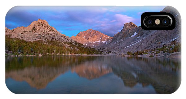 Kings Canyon iPhone Case - Kearsarge Lake Twilight by Brian Knott Photography