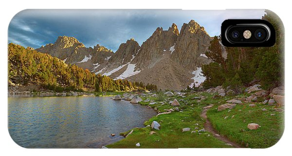 Kings Canyon iPhone Case - Kearsarge Lakes Trail by Brian Knott Photography