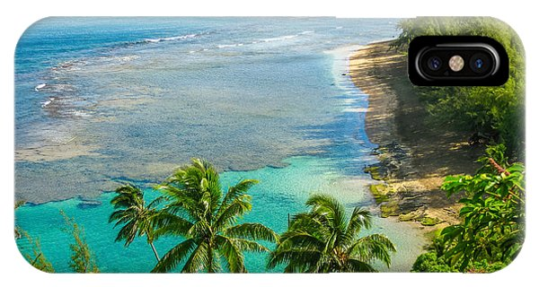 Kee Beach Kauai IPhone Case