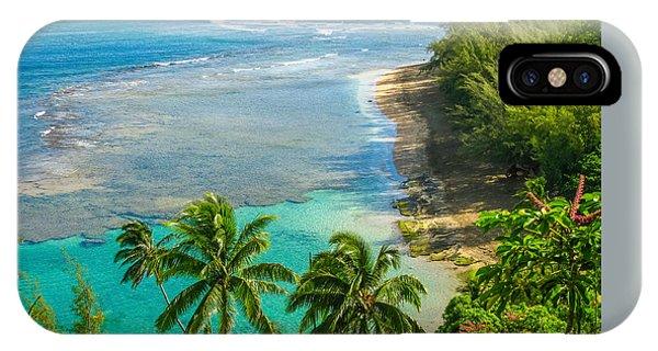 Kee Beach Kauai IPhone Case