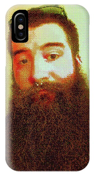 IPhone Case featuring the digital art Keefer Mosaic by Shawn Dall