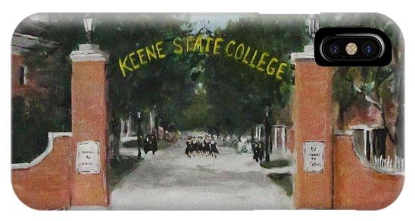 Keene State College IPhone Case