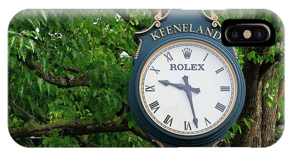 Keeneland Clock IPhone Case