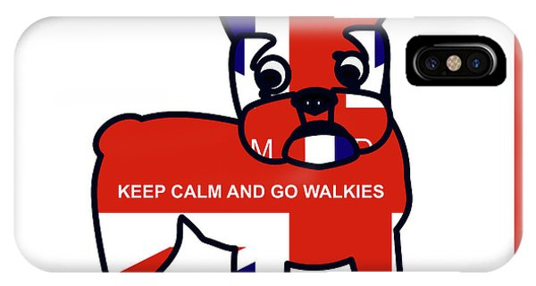 Keep Calm And Go Walkies IPhone Case