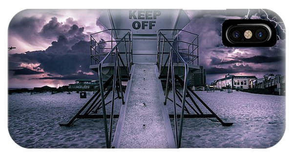 Keep Off Phone Case by Brent Shavnore