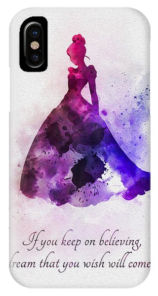 Fairy iPhone Case - Keep On Believing by My Inspiration