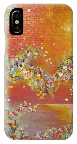 Keep Your Heart Open IPhone Case