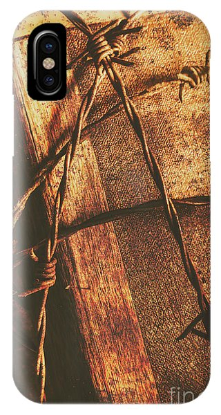 Crucifixion iPhone Case - Keepers Of The Oath by Jorgo Photography - Wall Art Gallery