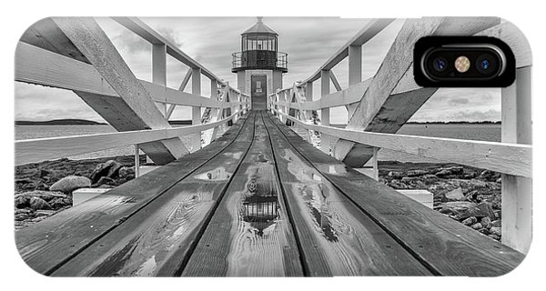Navigation iPhone Case - Keeper's Walkway At Marshall Point by Rick Berk